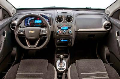 Chevrolet Montana 2015 ganha direção hidráulica de série