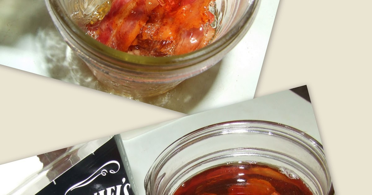 Stuff by Cher: Firewater Friday - Bacon Infused Bourbon (method 1)