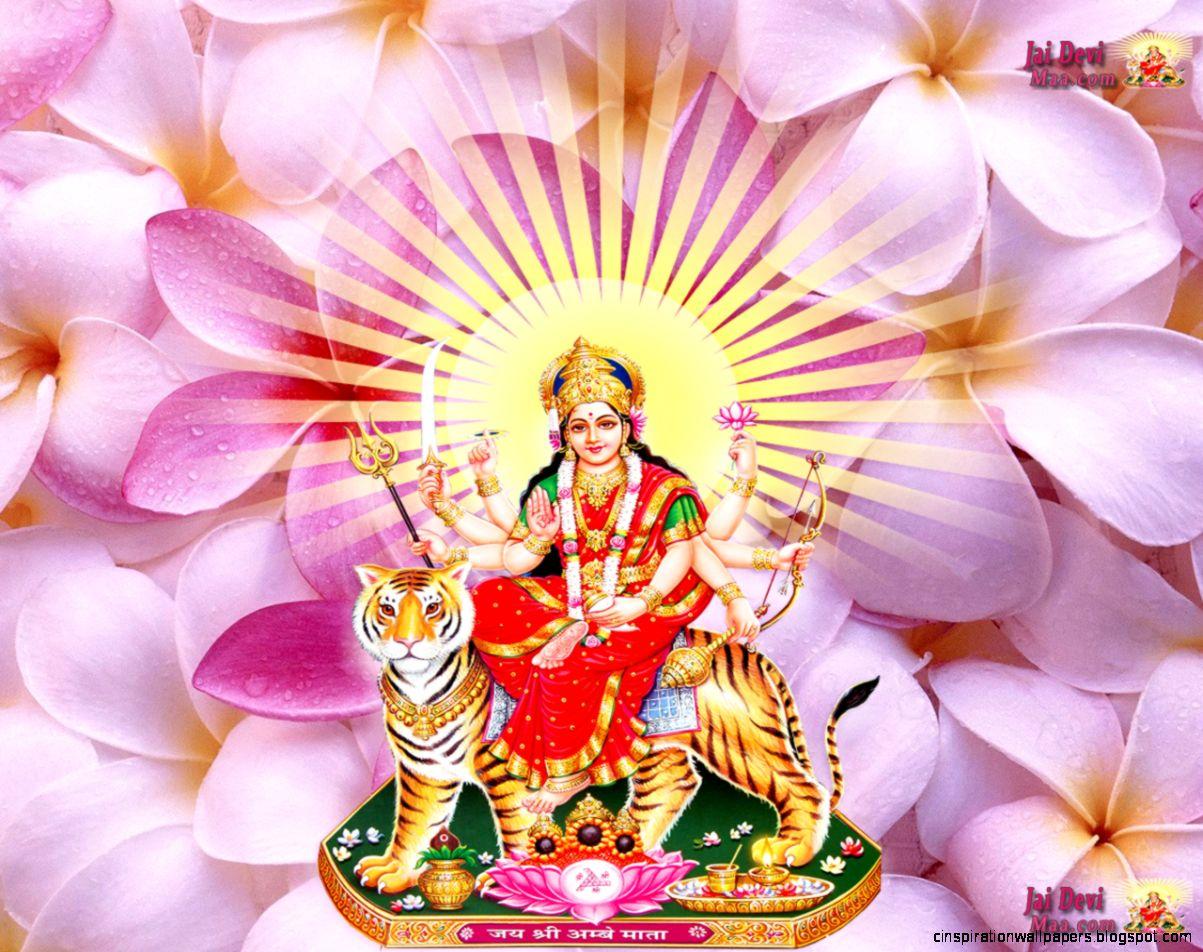 Maa Durga Hd Wallpaper Desktop Free Download Inspiration Wallpapers