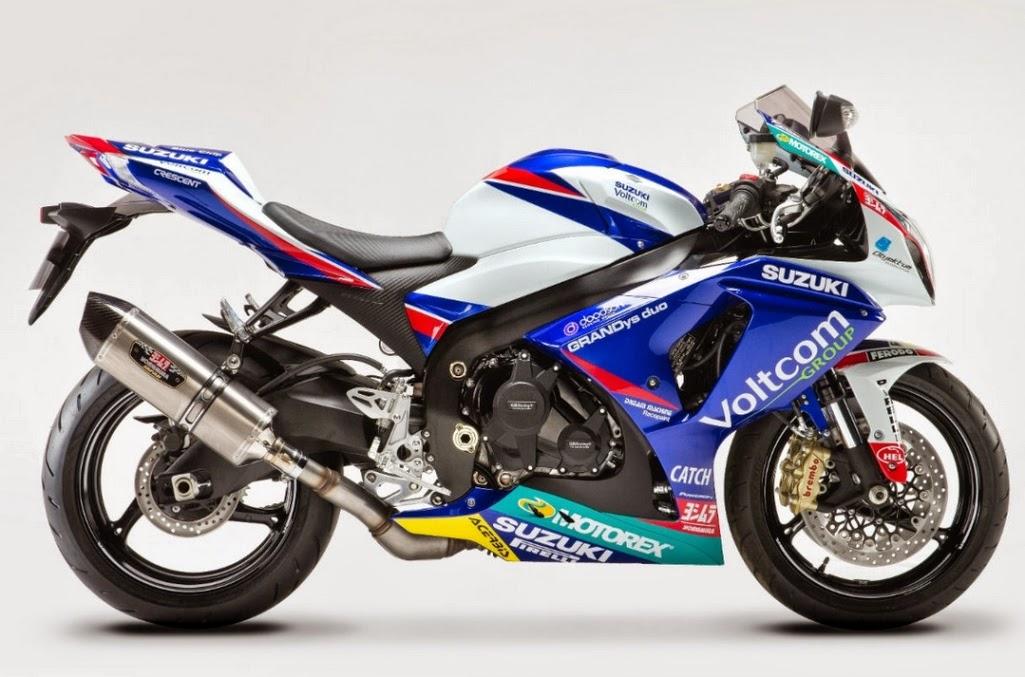 Suzuki presented model GSX-R1000 as a replica WSBK
