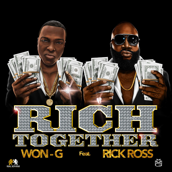 Won-G - Rich Together (feat. Rick Ross) - Single Cover