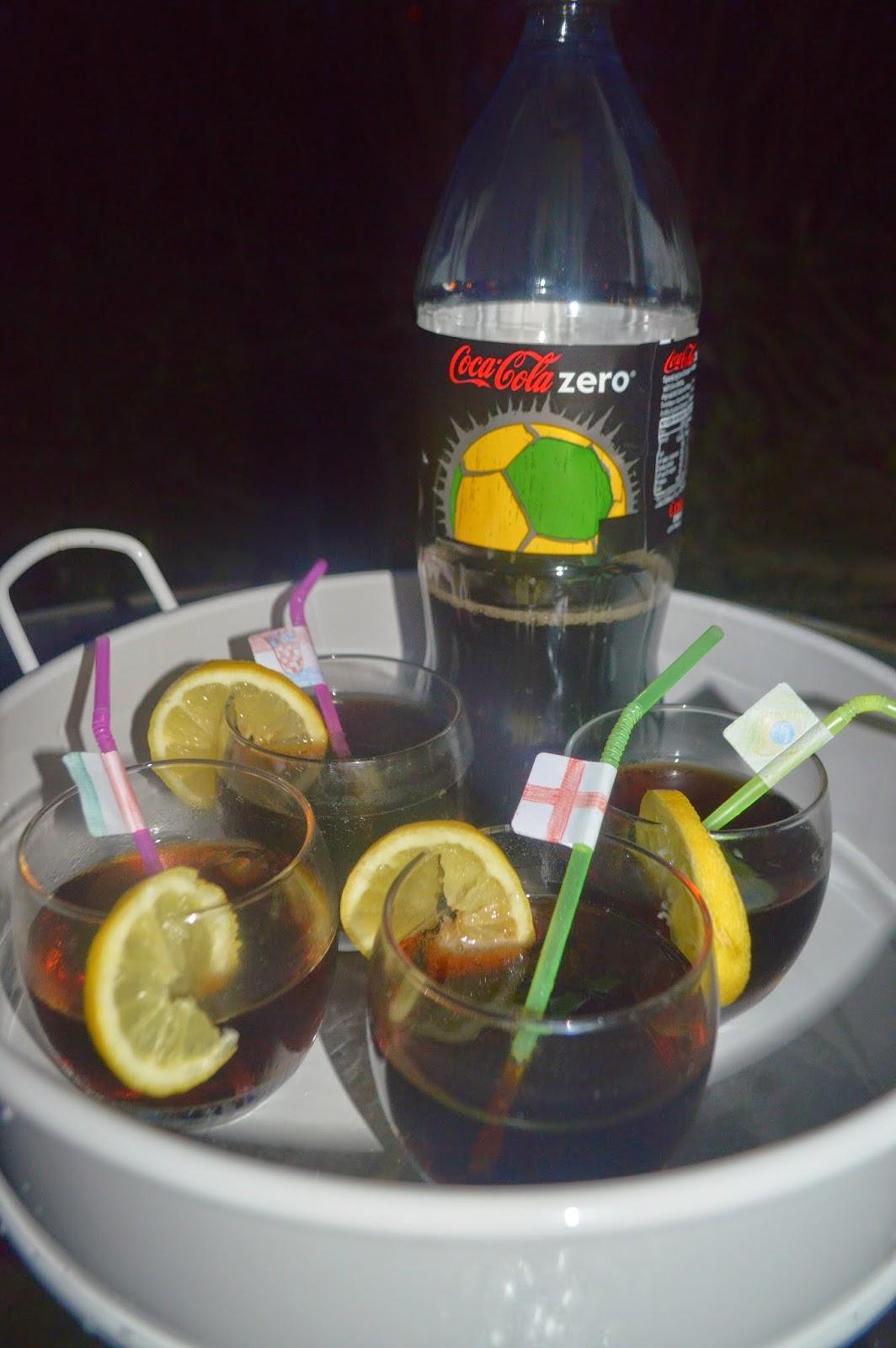 Big Match Planner Party Coca Cola Zero Refreshments CBIAS FIFA World Cup Brazil 2014