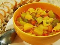 Sopa de Legumes à Italiana (vegana)