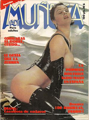 revista de sadomaso muñeca sady 1982