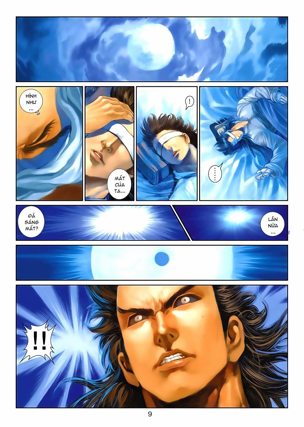 Thần Binh Tiền Truyện 4 - Huyền Thiên Tà Đế chap 10 - Trang 9