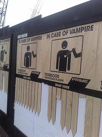 distributore di paletti per vampiri vampire stakes