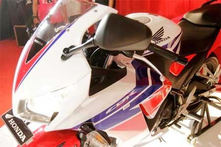 Foto Honda CBR lokal