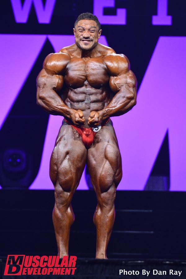 Roelly Winklaar - Mr Olympia Weekend - IFBB 2015 (7th Rank