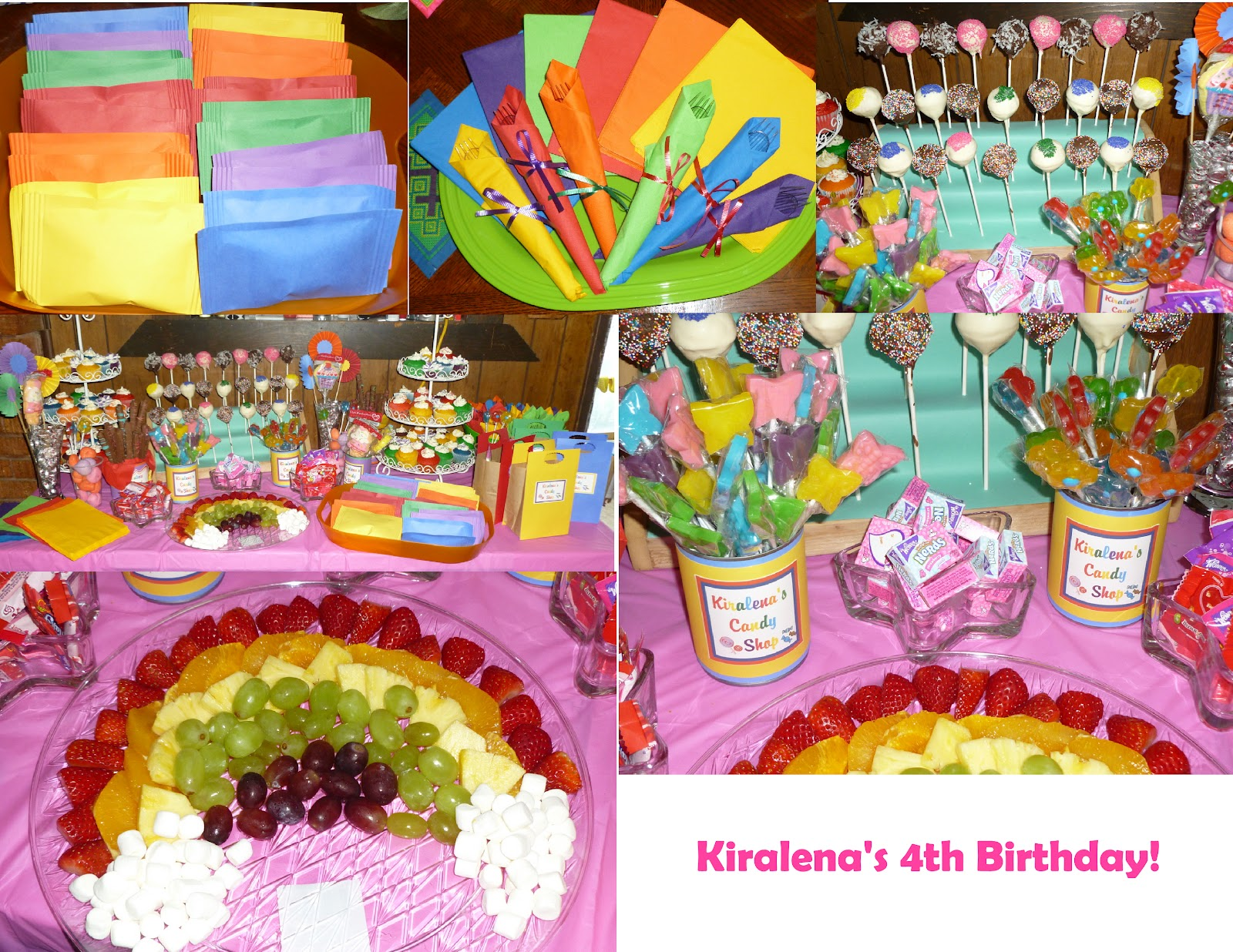 Scrap N Teach: Kiralena\'s 4th Rainbow-Candyland Birthday (free ...