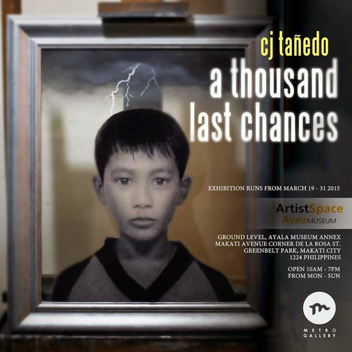 "CJ Tañedo's ""A Thousand Last Chances"" solo exhibit at the Ayala Museum"