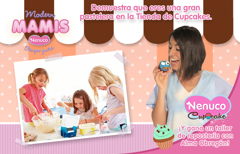 Nenuco te invita a un curso de cupcakes con Alma Obregón