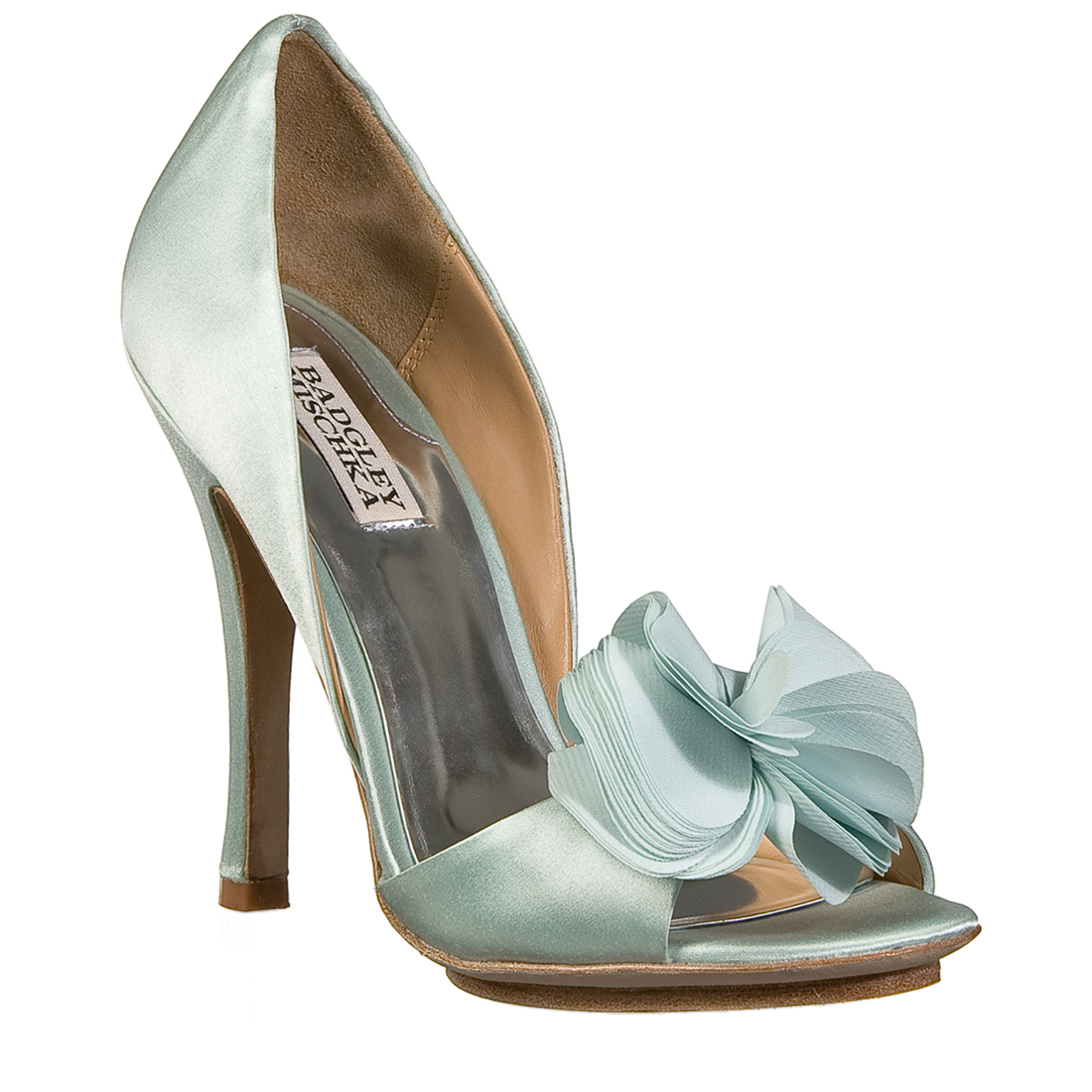 ... in Greece the ultimate evening and bridal shoes by Badgley Mischka