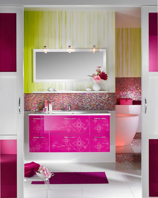 Girly Kitchen Decor: Bathroom: Girly Bathroom Design