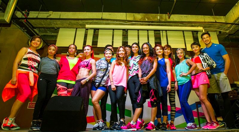 adidas #mygirls, adidas Women's Sports Performance Fall Winter 2014 Collection, adidas women sports, adidas women, adidas mygirls campaign, mygirls, sharifah sakinah, Atilia Haron, Sazzy Falak, Megan Tan, Elfira Loy