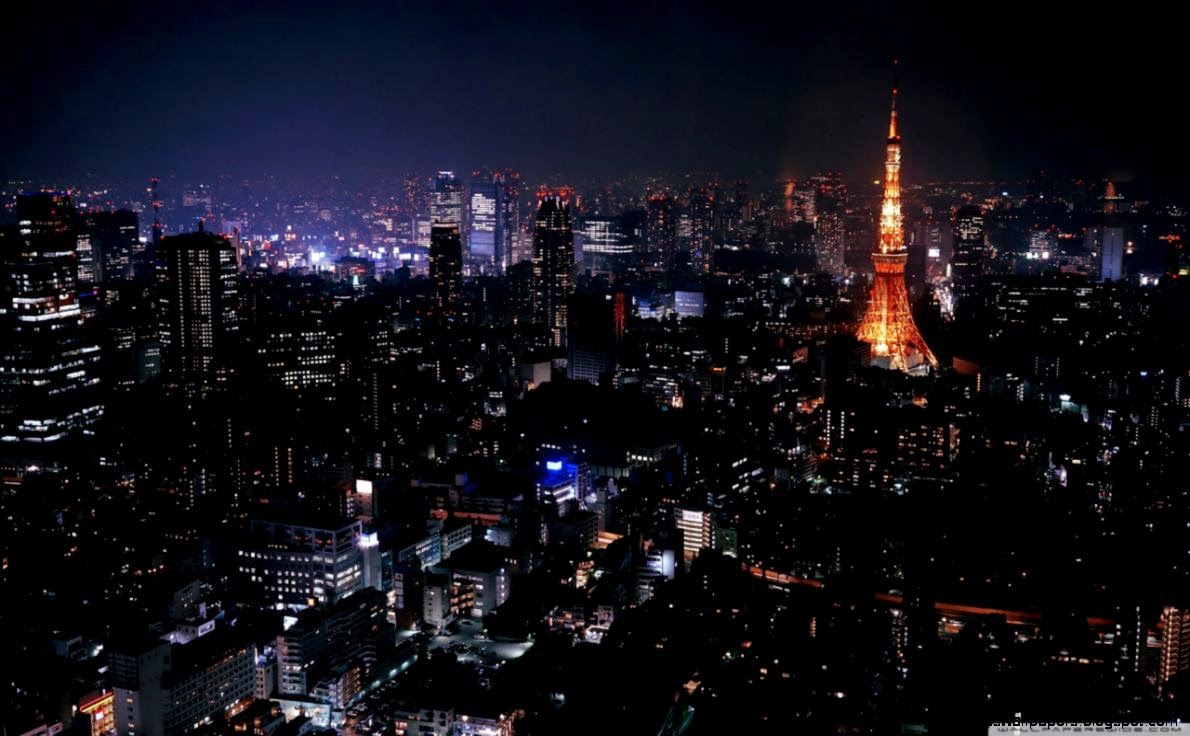 Night Paris Wallpaper Wide