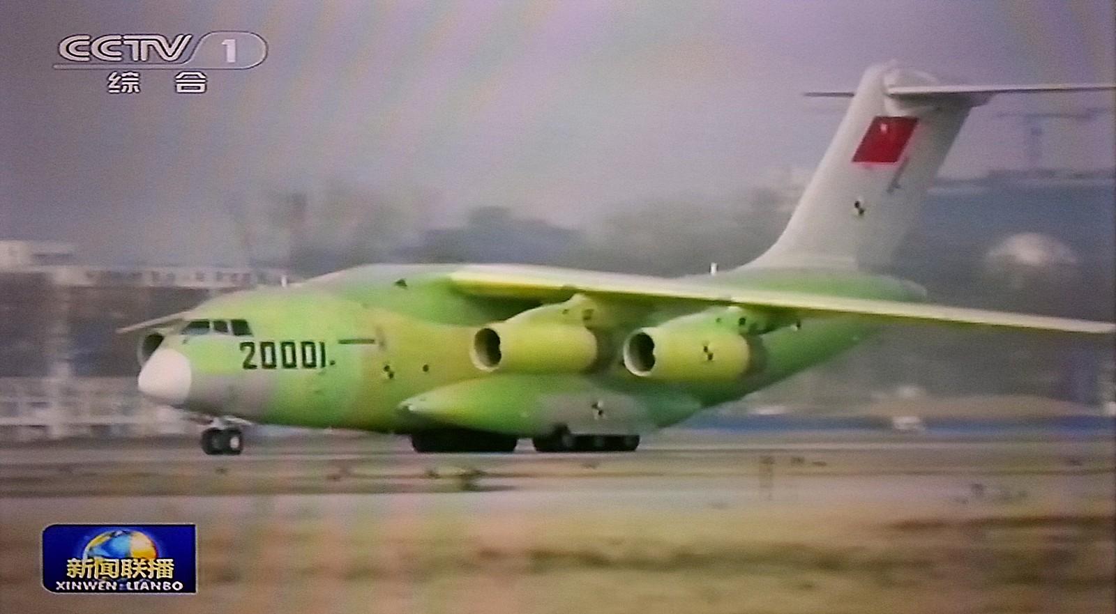 Fuerzas Armadas de la República Popular China - Página 3 Military+transport+aircraft+Y-20+2