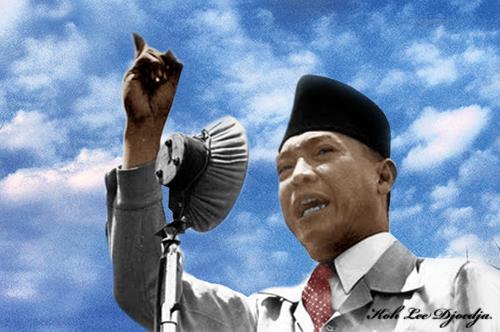 Berdiri Diatas Kaki Sendiri Presiden Soekarno