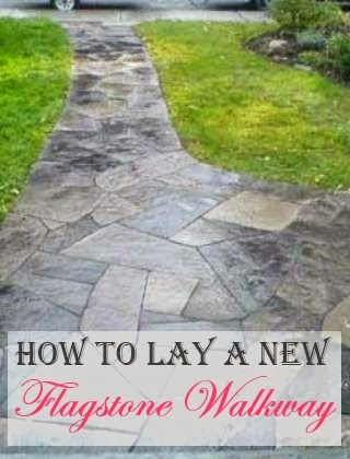 How To Lay A New Flagstone Walkway