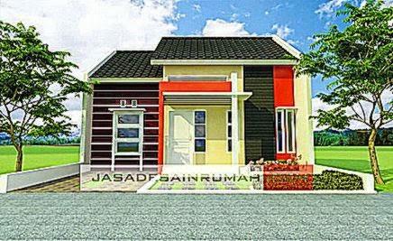Rumah Mungil Minimalis di Tanah Bumbu  Jasa Desain Rumah