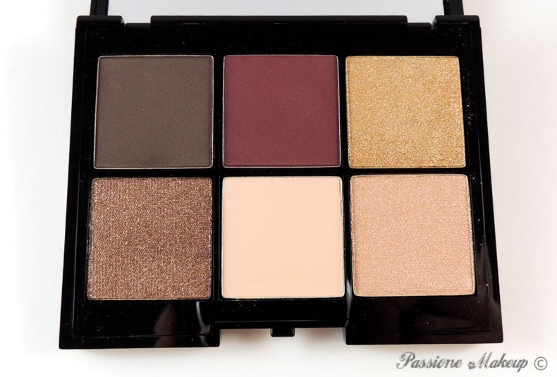 Kiko Colour Impact Eyeshadow Palette Lounge Warm Tones