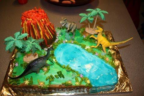 Cakelicious Dinosaur Land