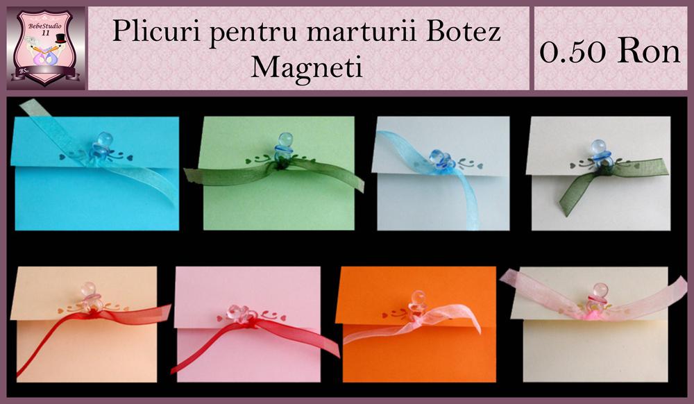 plicuri pentru magneti botez