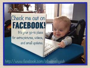 I'm on Facebook!