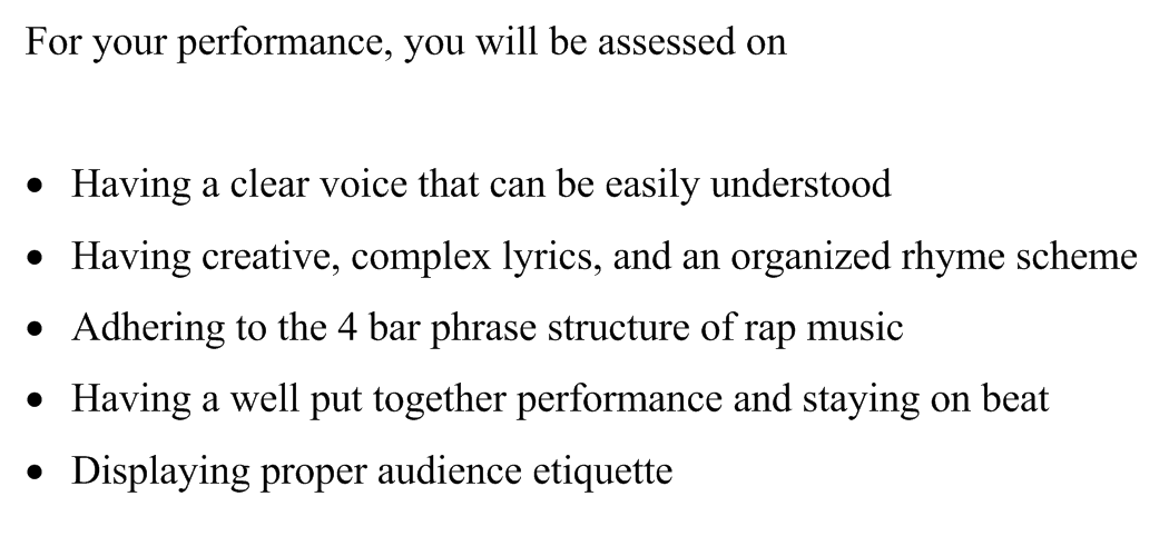 the rap on rap essay 100% free papers on rap song abusive lyrics should have c essays sample topics, paragraph introduction help, research & more class 1-12, high school & college.