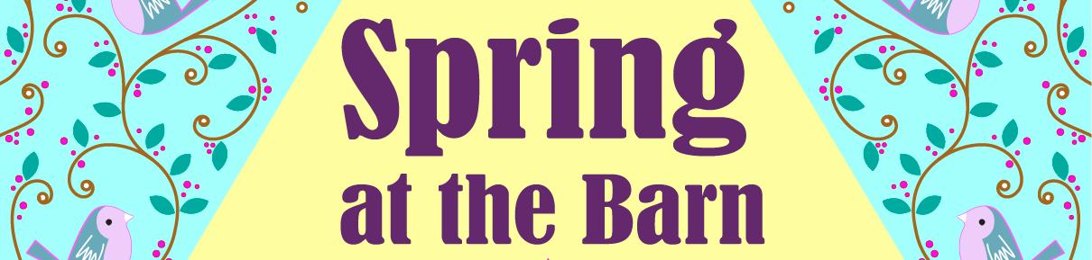 Spring at Barn