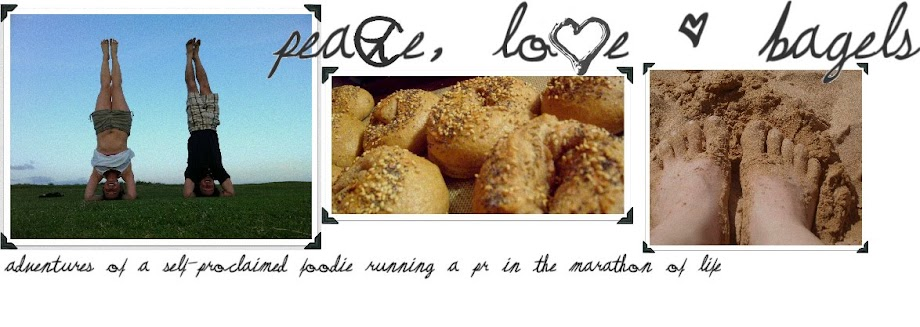 Peace, Love & Bagels