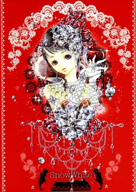 snow white,Tukiji Nao,anime girl