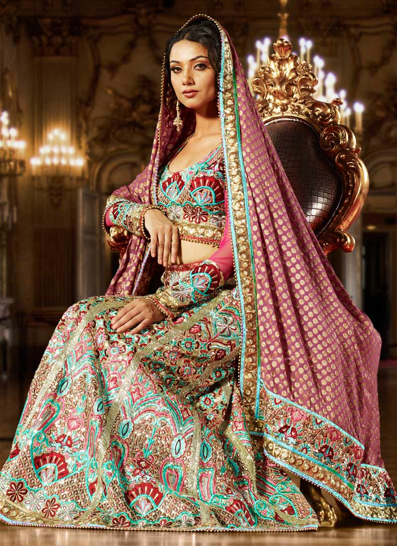 Asian wedding clothes photos and video dresses shoes for Asian bridal wedding dresses