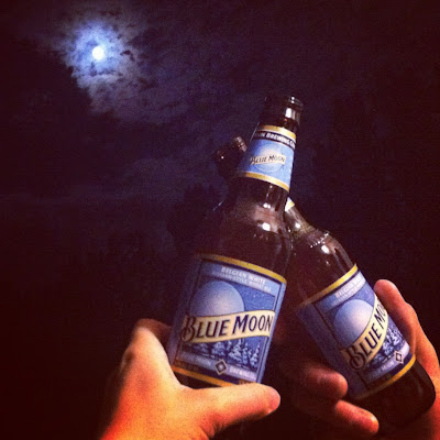 Photos with the Blue Moon www.thebrighterwriter.blogspot.com
