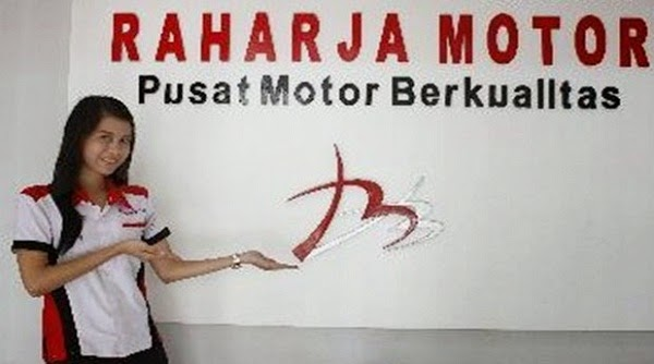 """PT BMR lebih dikenal dengan nama """"Raharja Motor"""""""