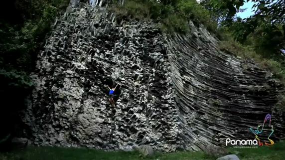 Cesar Melendez visit panama atp rock climning