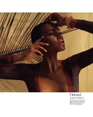 as7 Arlenis Sosa par Xevi Muntané pour Harper's Bazaar Spain