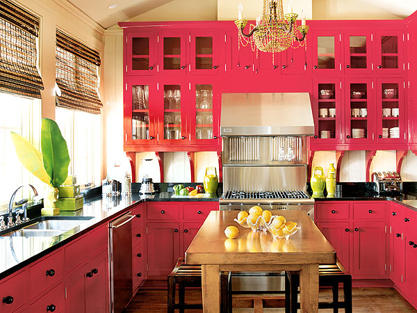 The kitchen interior design also can give a plus to the house. Then ...