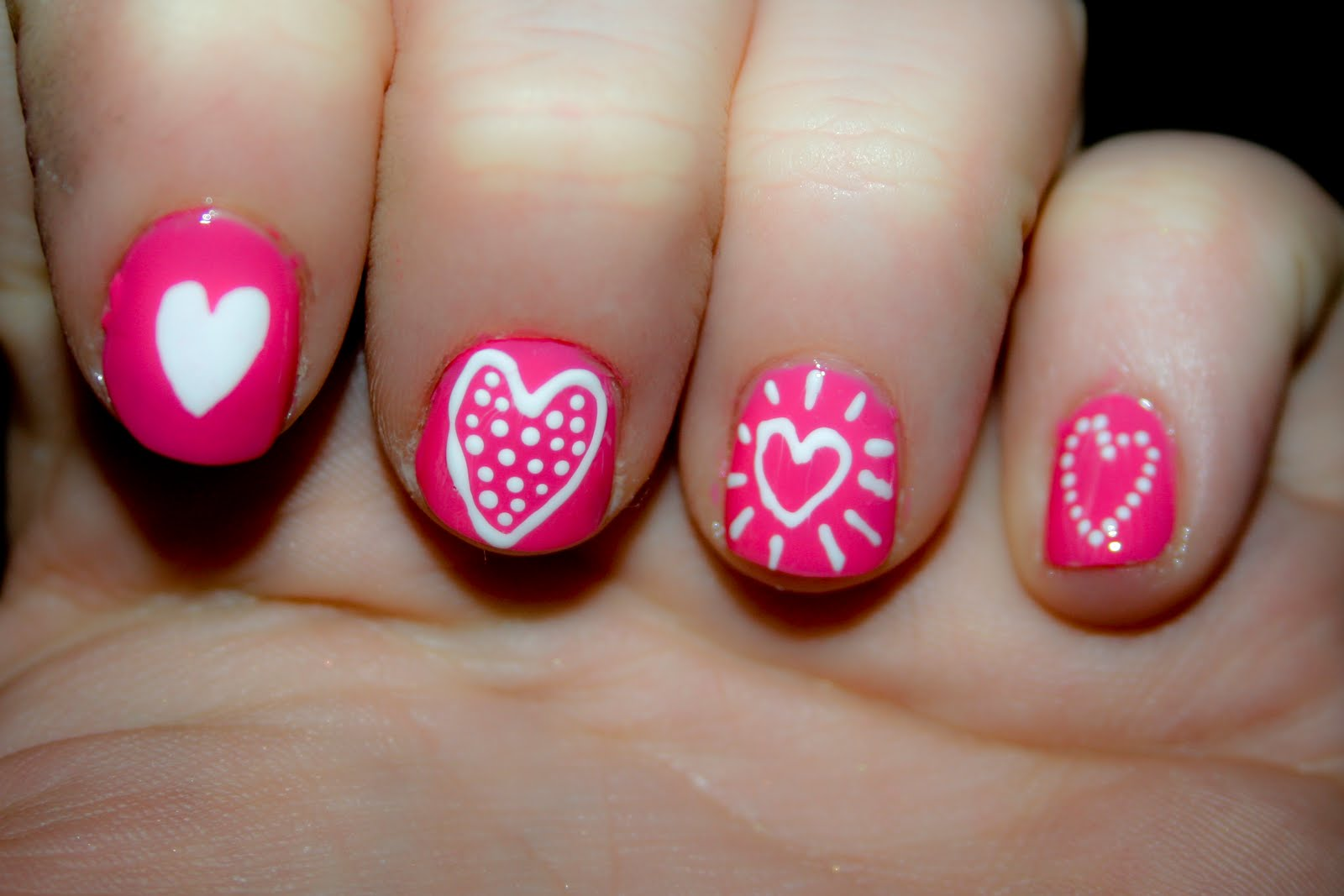 Something Beautiful Blog: Uñas: Especial uñas para San Valentin ...