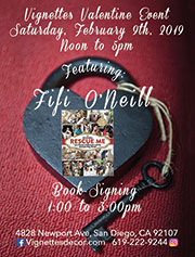 Fifi O'Neill<br>Book-Signing Event