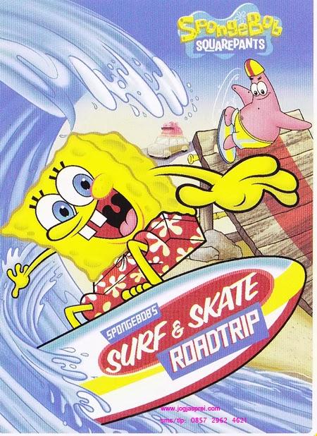 Selimut Rosanna Sutra Sponge Bob