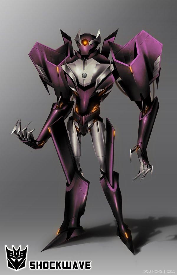 shockwave transformers prime