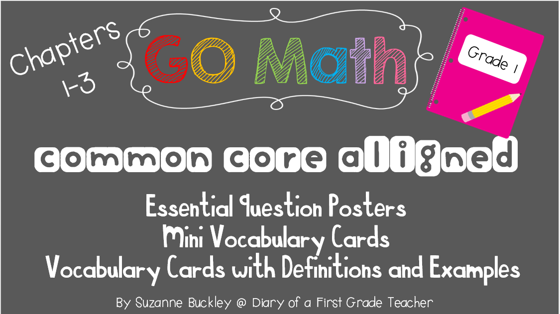 http://www.teacherspayteachers.com/Product/GO-Math-First-Grade-Essential-Question-Posters-and-Vocabulary-Cards-1376119