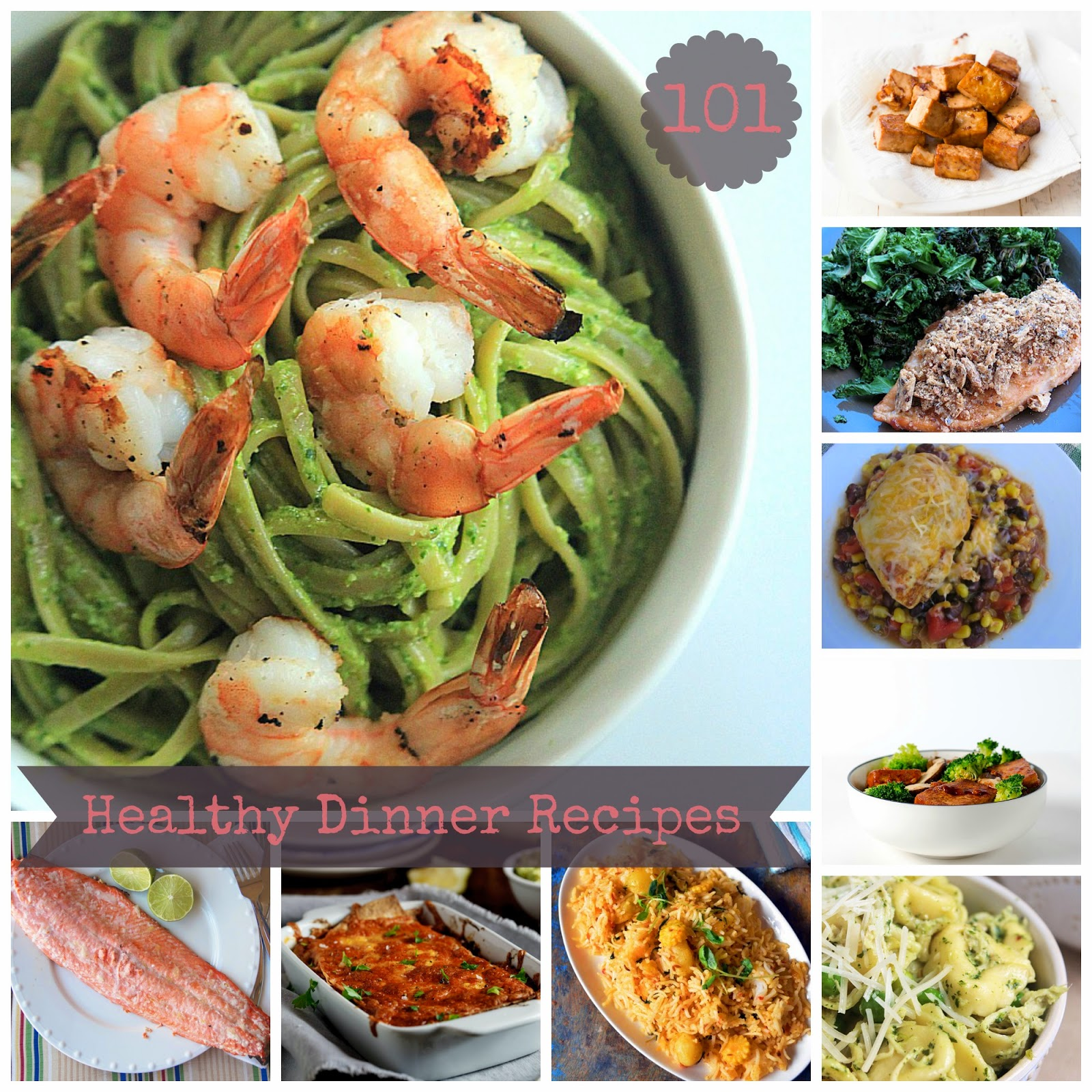 healthy dinner recipe ideas