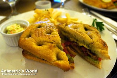 Grilled Vegetable Sandwich at Dolcelatte