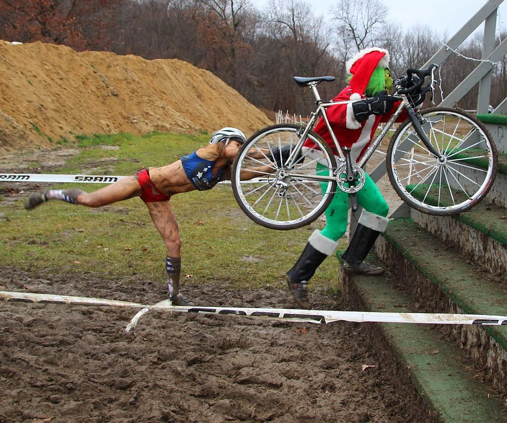BicycleFriends.com: Cyclocross and the Grinch