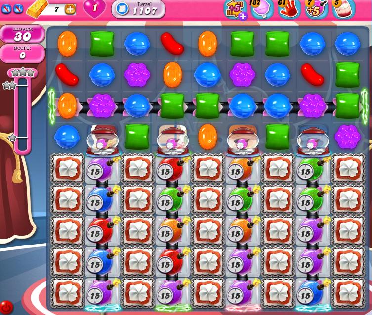 Candy Crush Saga 1107