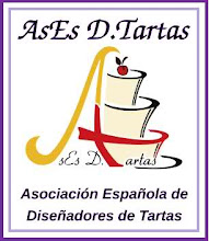 Socia N-0125 De La Asociacin Espaola De Diseadores De Tartas.