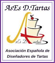 Socia N-0125 De La Asociación Española De Diseñadores De Tartas.