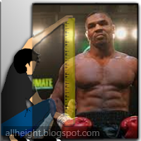 Mike Tyson Height - How Tall