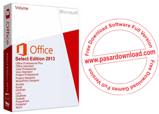 Free Download Software Microsoft Office 2013 Select Edition 64 Bit v15.0.4551.1508 Full Activator